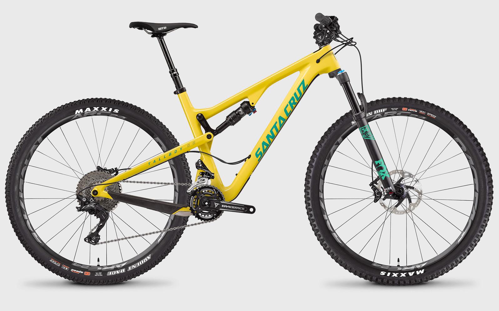 2017 Santa Cruz Tallboy Carbon CC XT Bike 2017 Tallboy CC XT