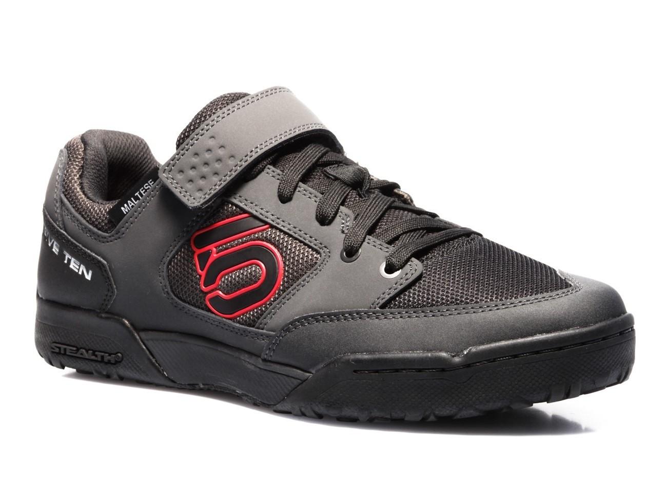 Five Ten Maltese Falcon Men's Clipless MTB Shoe - Carbon/Red