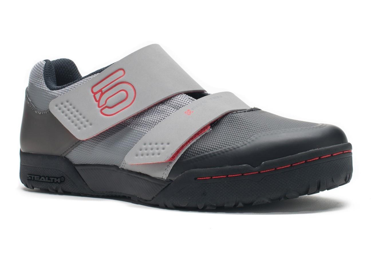Five Ten Maltese Falcon Race Men's Clipless MTB Shoe - Mono Grey/Red