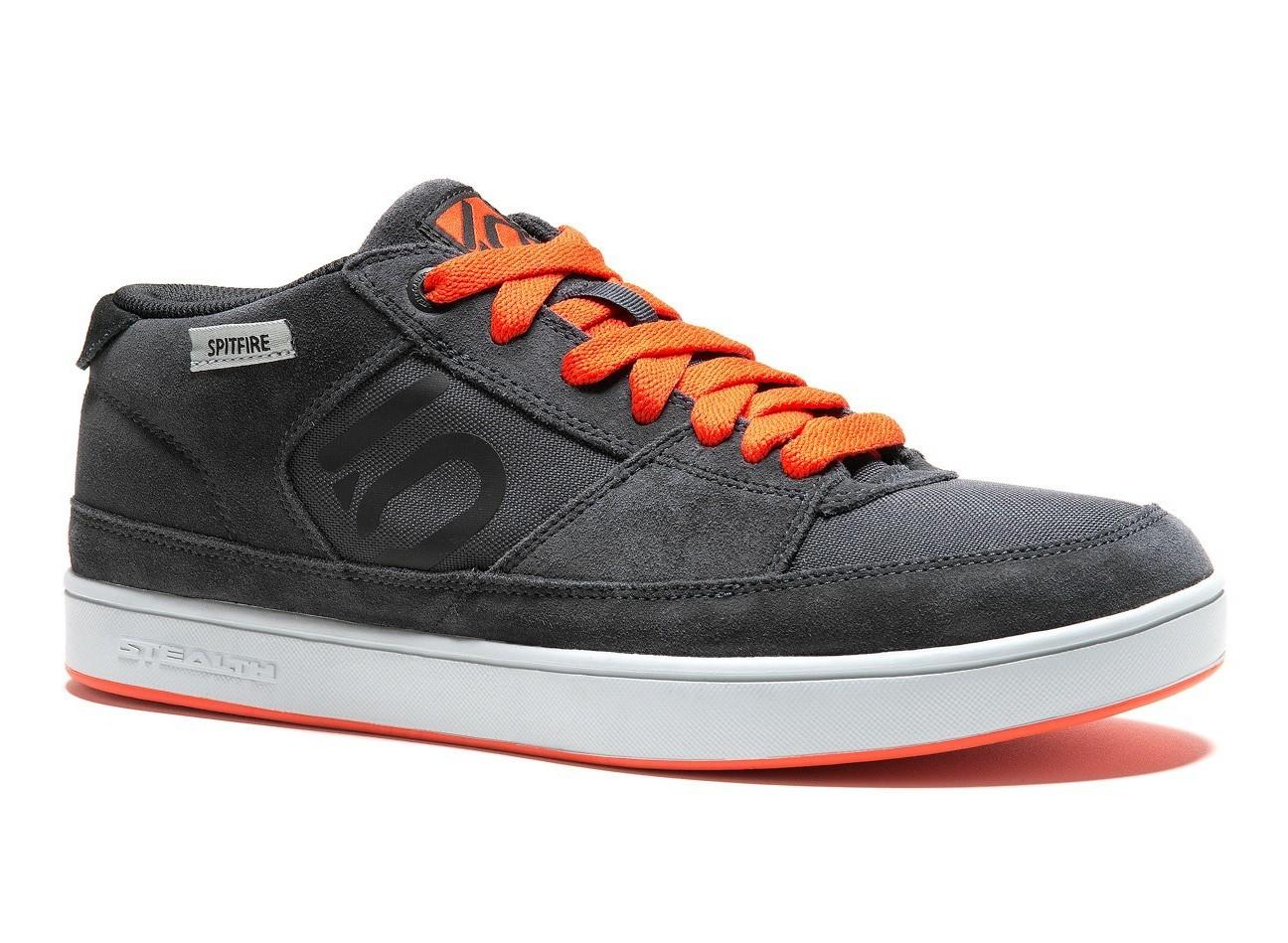 Five Ten Spitfire Men's Shoe - Dark Grey/Orange