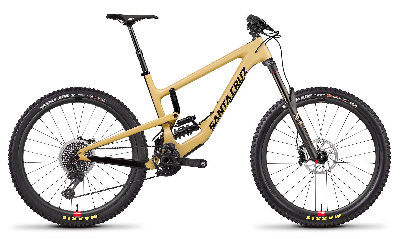 2018 Santa Cruz Nomad XX1 with Reserve Wheels