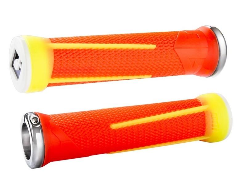 AG-1 LOCK-ON GRIPS (135MM) - orange