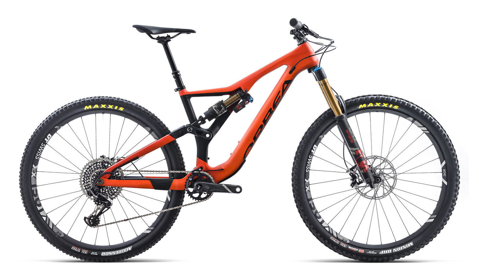 2018 Orbea Rallon M-Team  2018 Orbea Rallon M-Team red