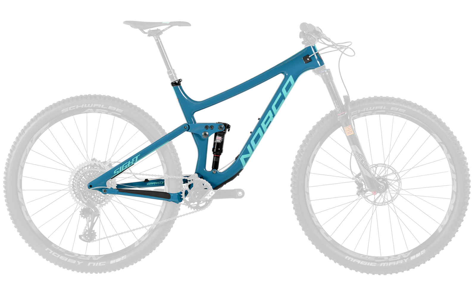 2017 Norco Sight C 9.1 Framekit