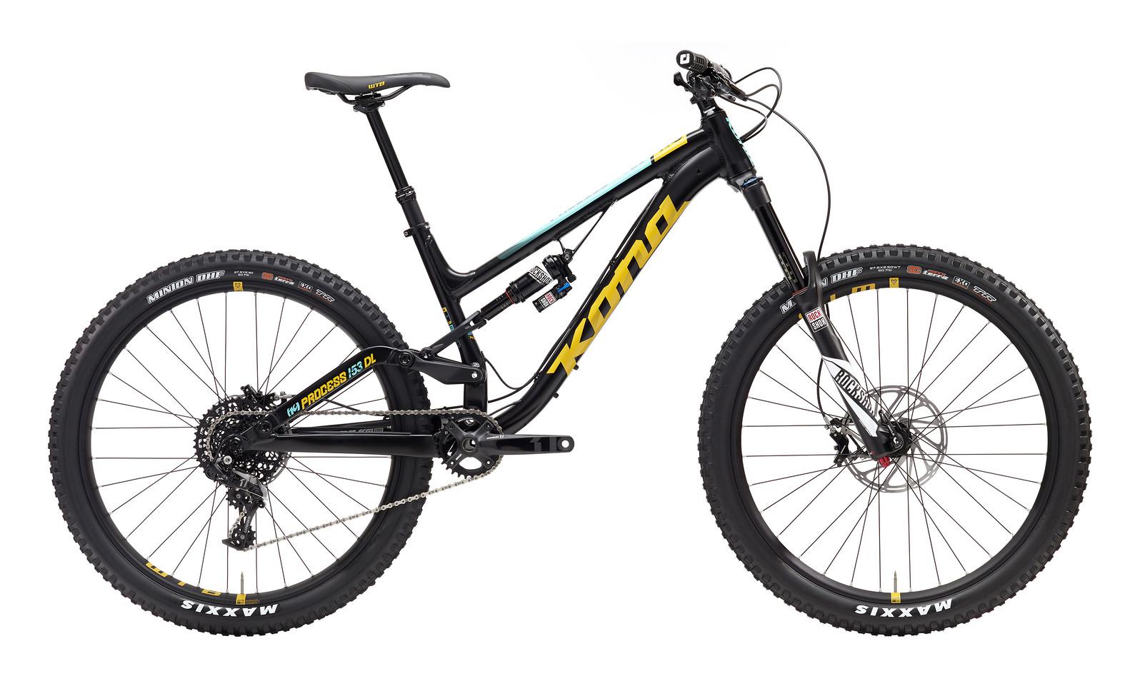 2017 Kona Process 153 DL Bike