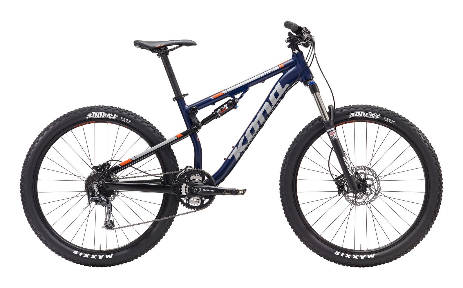 2017 Kona Precept 120 Bike