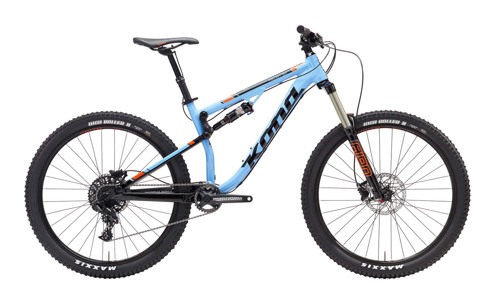 2017 Kona Precept 150 Bike
