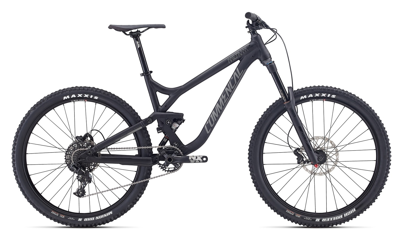 2017 Commencal Meta AM V3 Origin 650b black