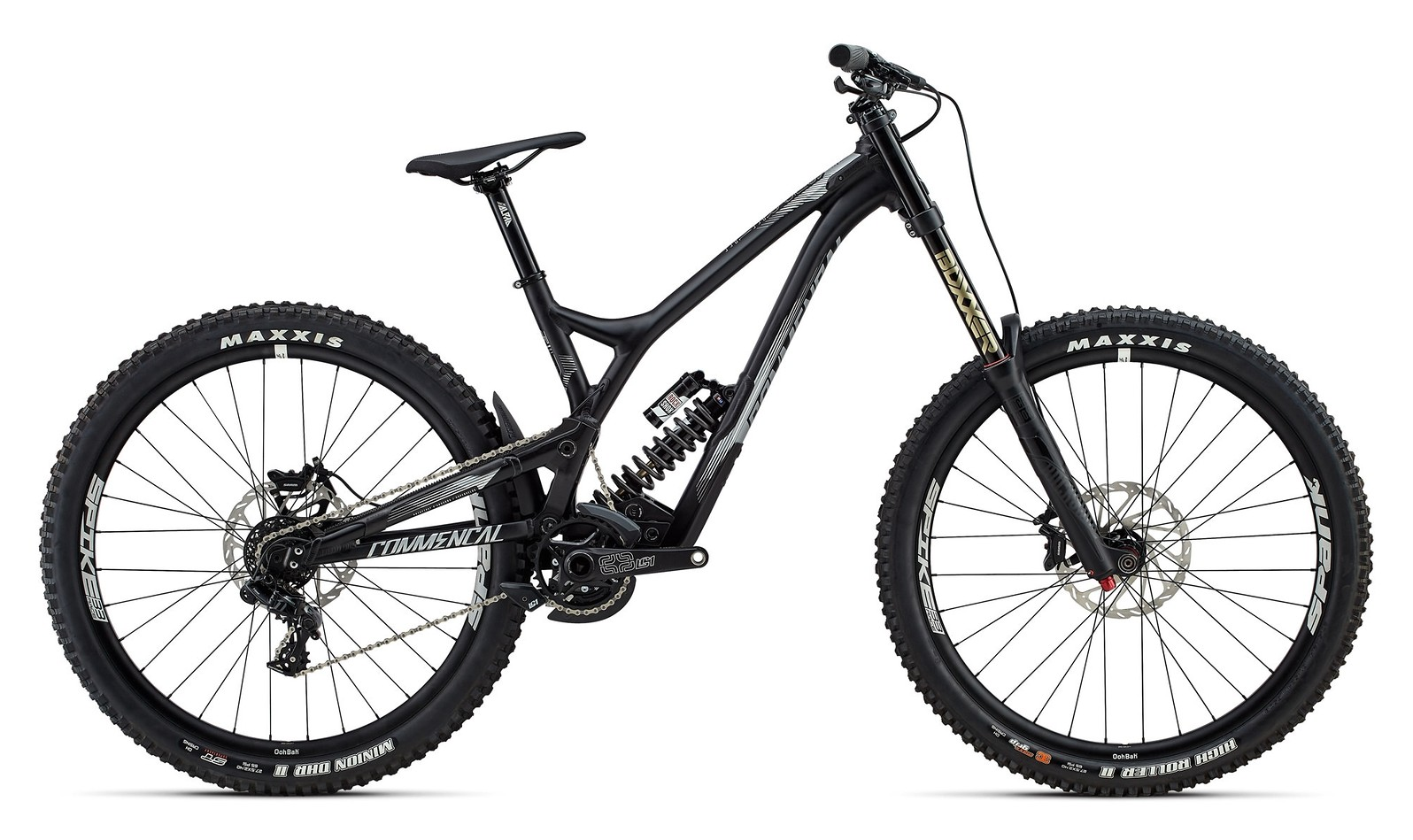 2017 Commencal Supreme DH V4.2 Race 650b black
