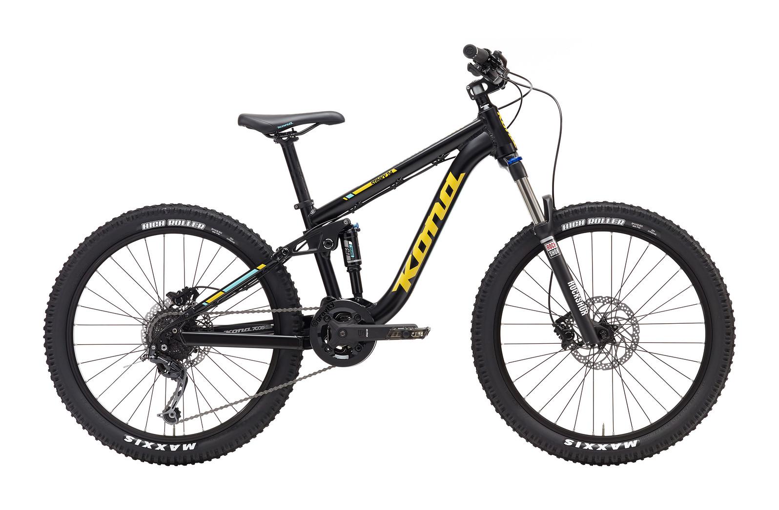 2017 Kona Stinky 24 Bike