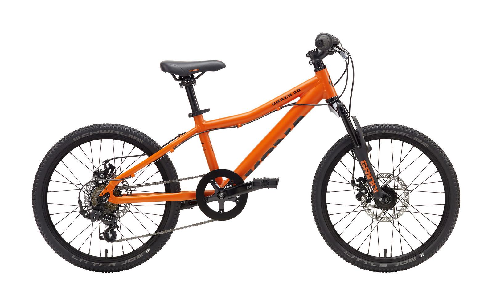 2017 Kona Shred 20 Bike