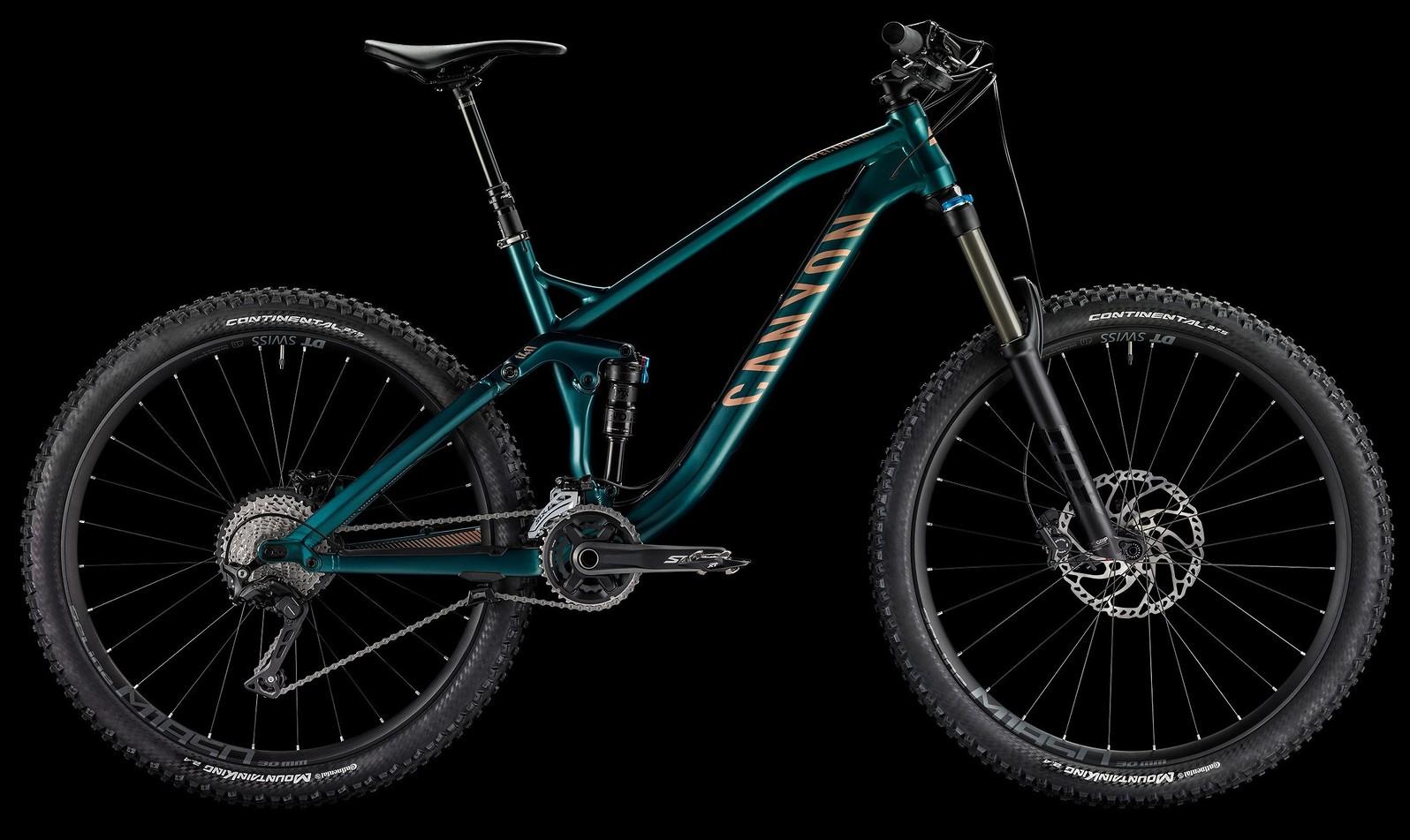 2017 Canyon Spectral AL 6.0 Bike