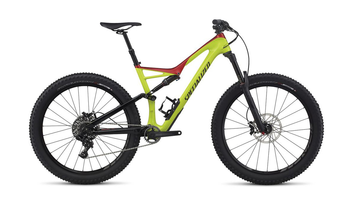 Specialized Stumpjumper FSR Comp Carbon 6Fattie 1