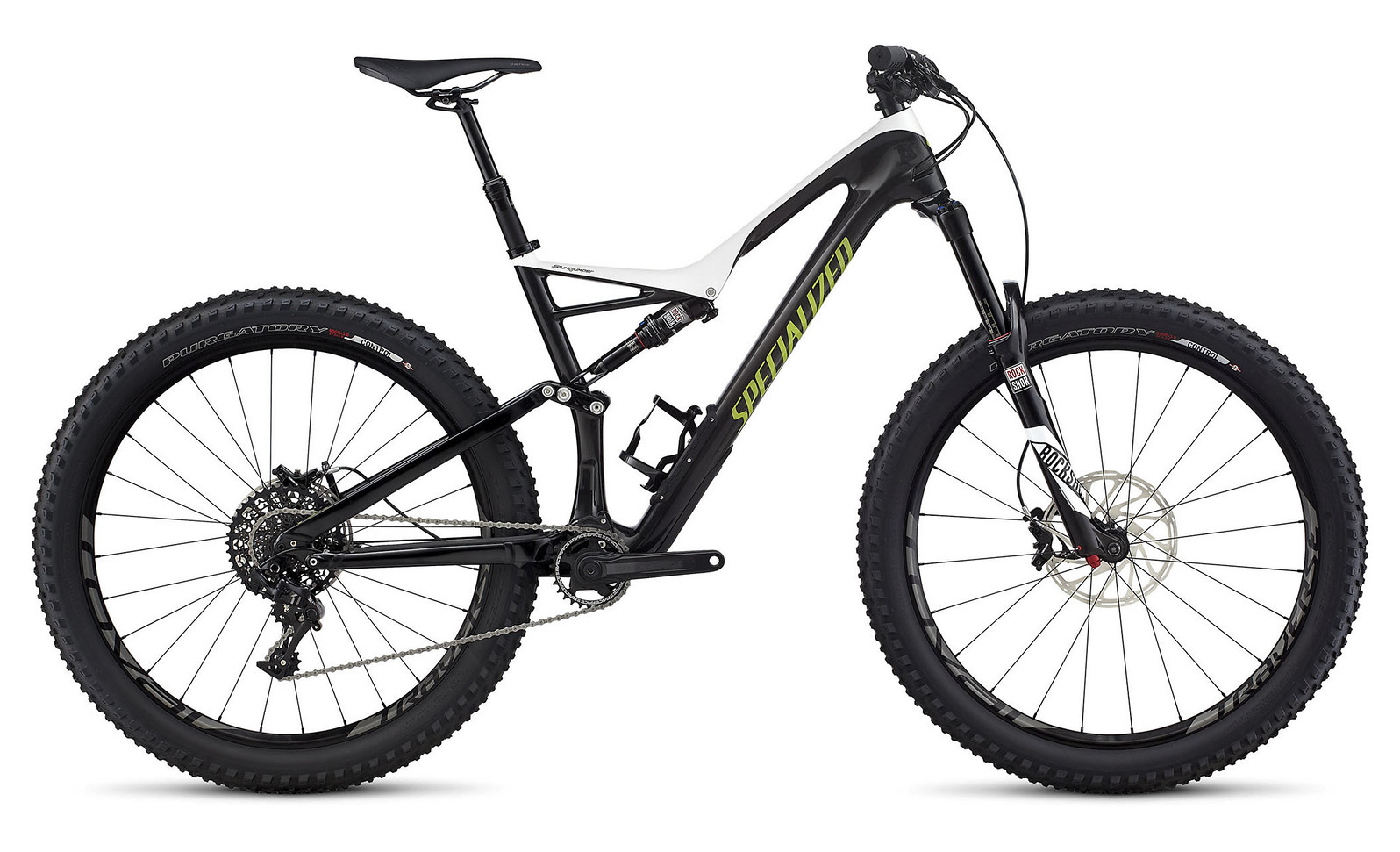 2017 Specialized Stumpjumper FSR Expert Carbon 6Fattie