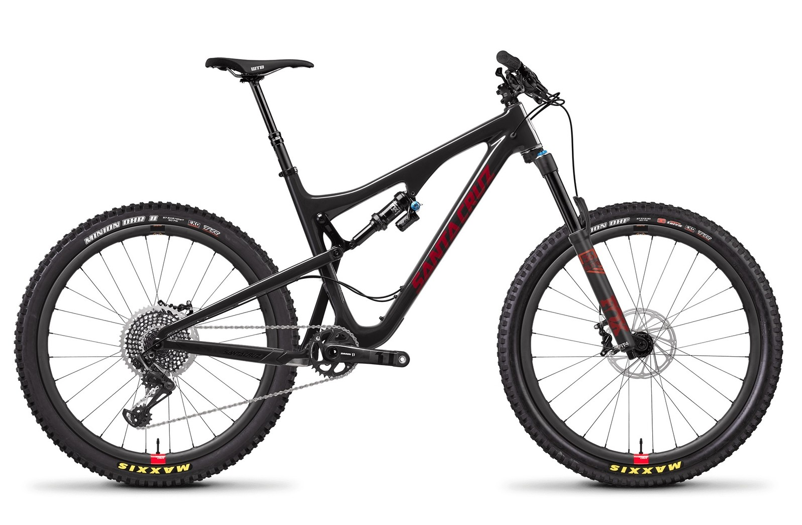 Bronson Carbon CC X01 Gloss Black and Siracha w Reserve Wheel Upgrade