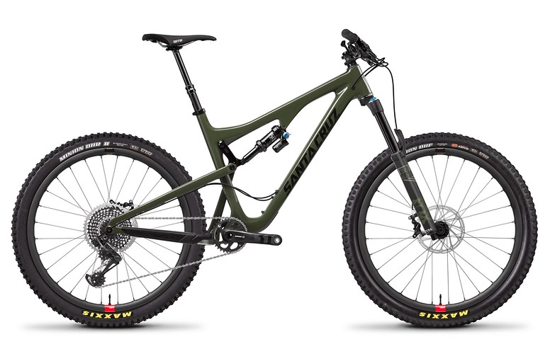 Bronson Carbon CC X01 Gloss Olive and Black w Reserve Wheel Upgrade