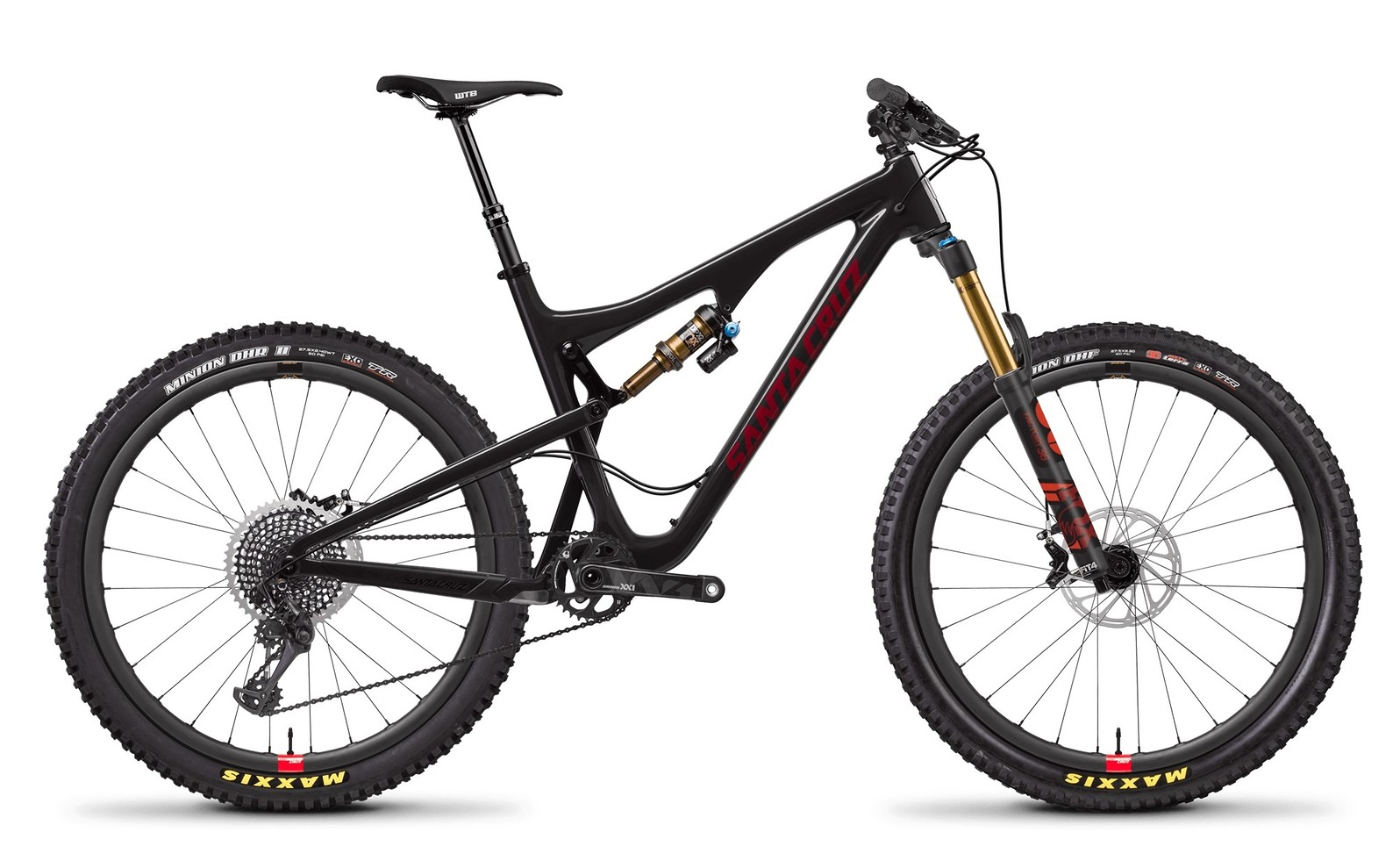 Bronson Carbon CC XX1 Gloss Black and Siracha with Reserve Wheel Upgrade