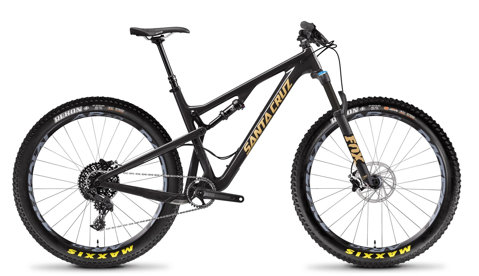 Tallboy Carbon C PLUS Gloss Carbon and Tan