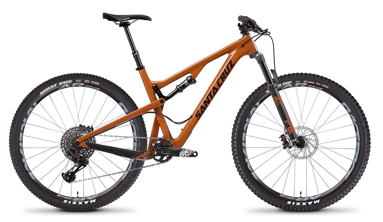 Santa Cruz Tallboy Carbon S Gloss Rust and Black