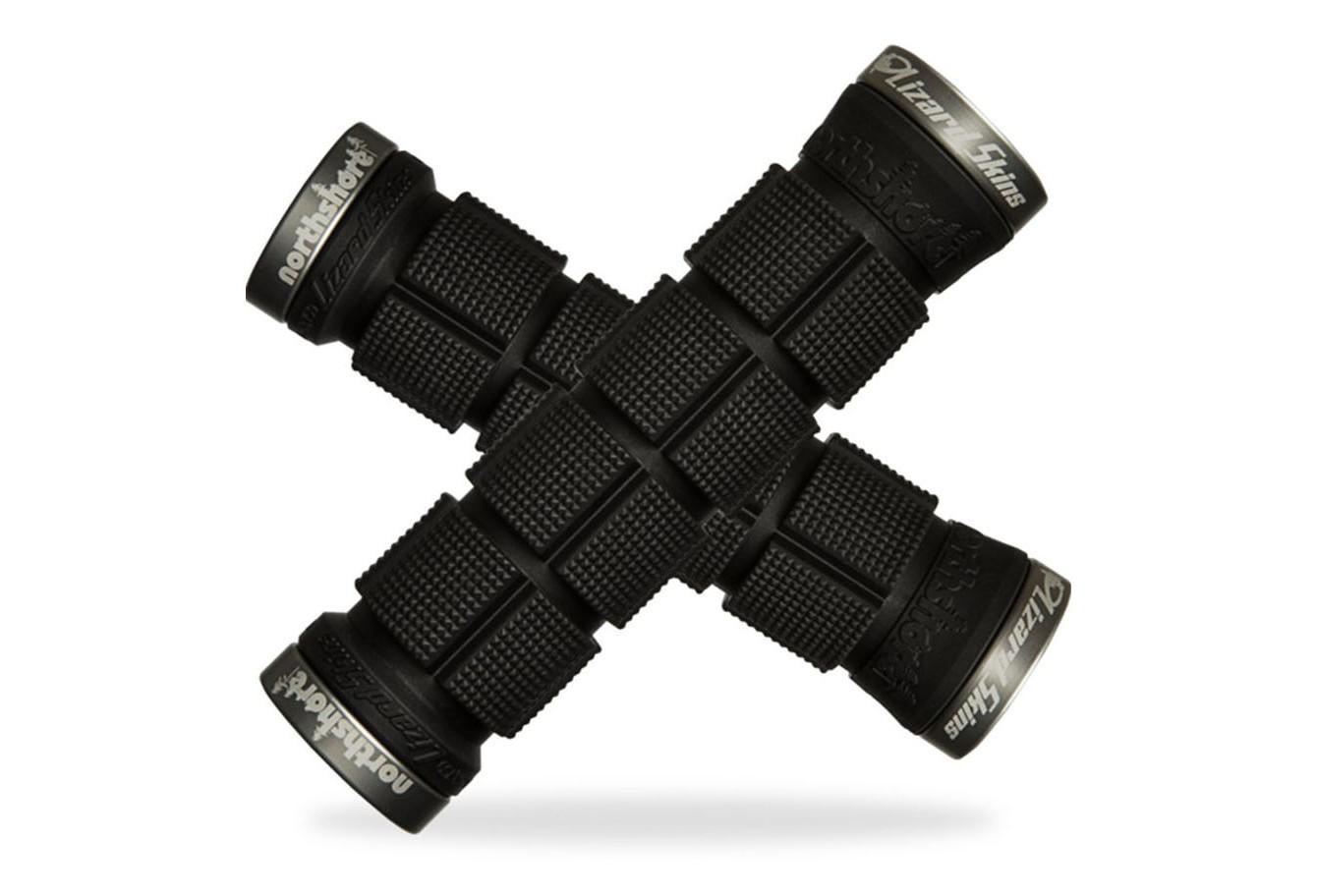 Lizard Skins MTB Single Lock-On Logo Grip 130MM Mountain Bike Grip-BMX-Cycling