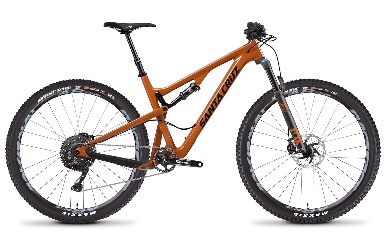 Santa Cruz Tallboy Carbon XE Gloss Rust and Black