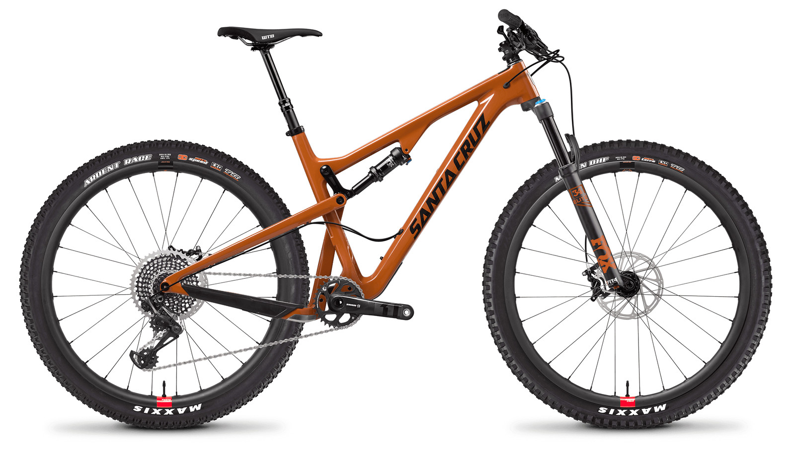 Santa Cruz Tallboy Carbon CC X01 Gloss Rust and Black RESERVE