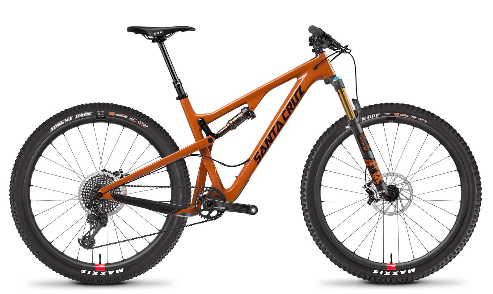 Santa Cruz Tallboy Carbon CC XX1 Gloss Rust and Black RESERVE