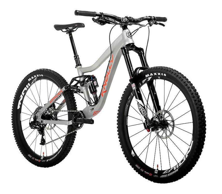 2017 Knolly Warden Supreme Leader (X01) Bike - Reviews, Comparisons ...
