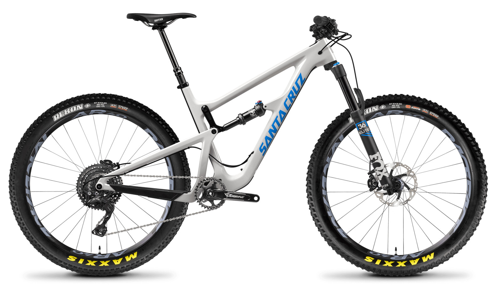 Santa Cruz Hightower Carbon C XE 27.5 PLUS Gloss Cannery Gry and Blue