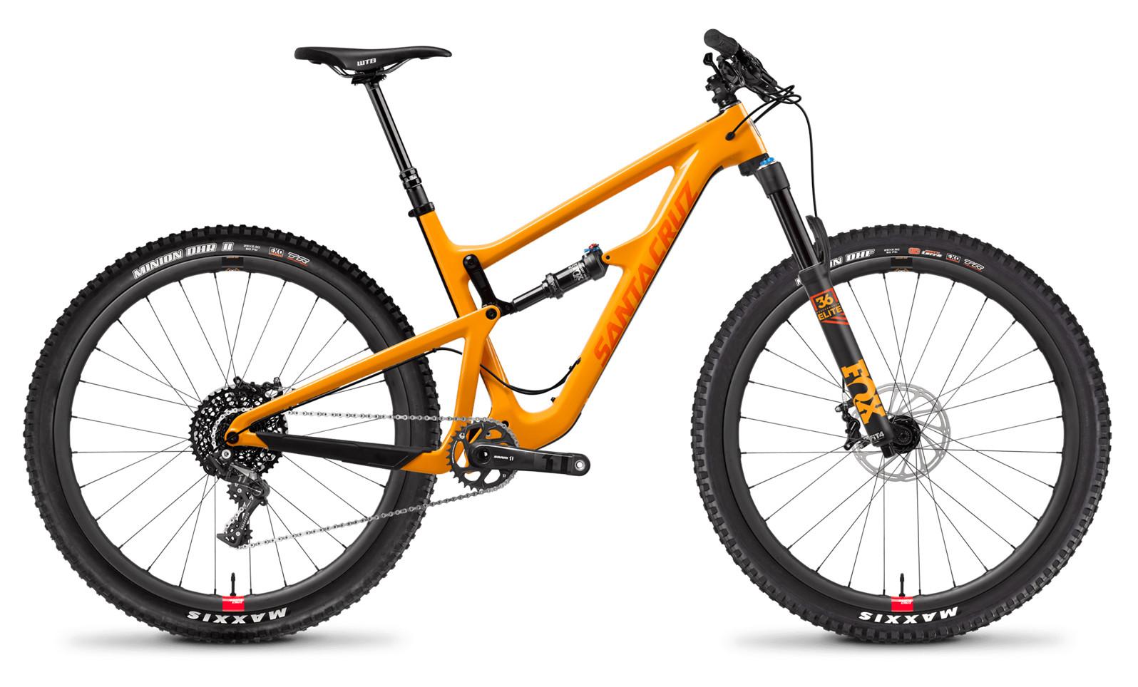 Santa Cruz Hightower Carbon C X01 29 RESERVE Gloss Mango and Orange