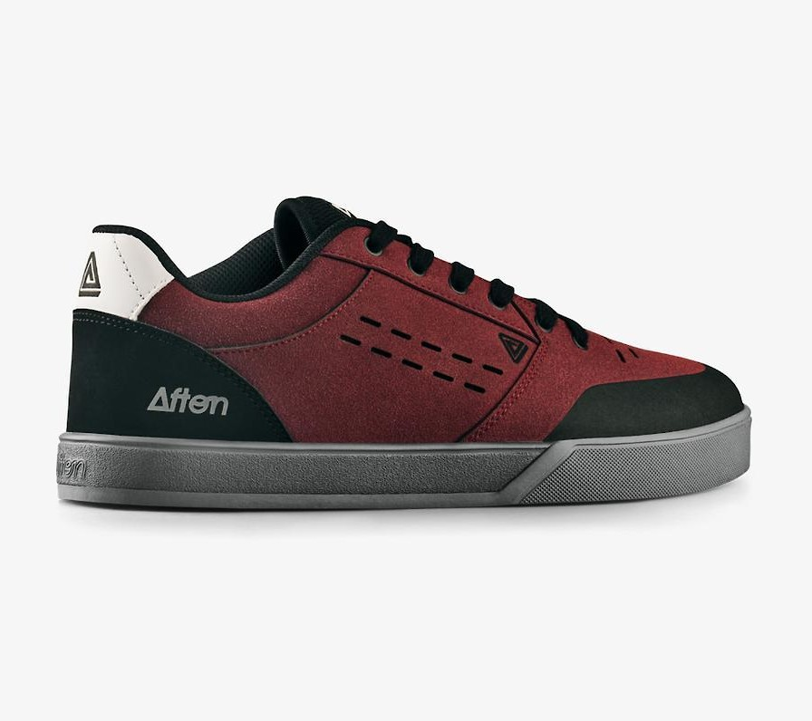 Keegan Flat Pedal Shoe (Black/Maroon)