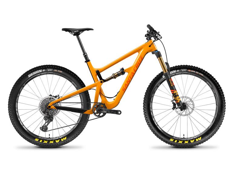 Santa Cruz Hightower 275 Plus XX1 Gloss Mango and Orange
