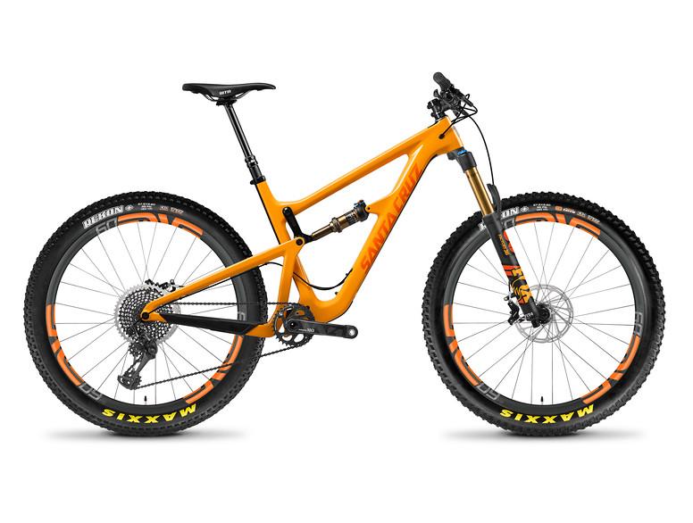 Santa Cruz Hightower 275 Plus RESERVE XX1 Gloss Mango and Orange