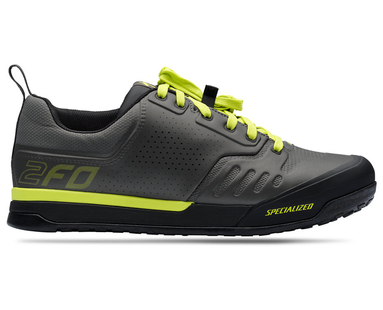 Specialized 2FO Flat 2.0 Shoe (2019 Charcoal/Ion)