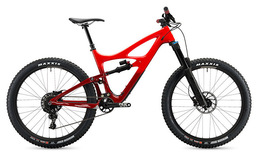 Mojo HD4 SRAM NX Build - Red