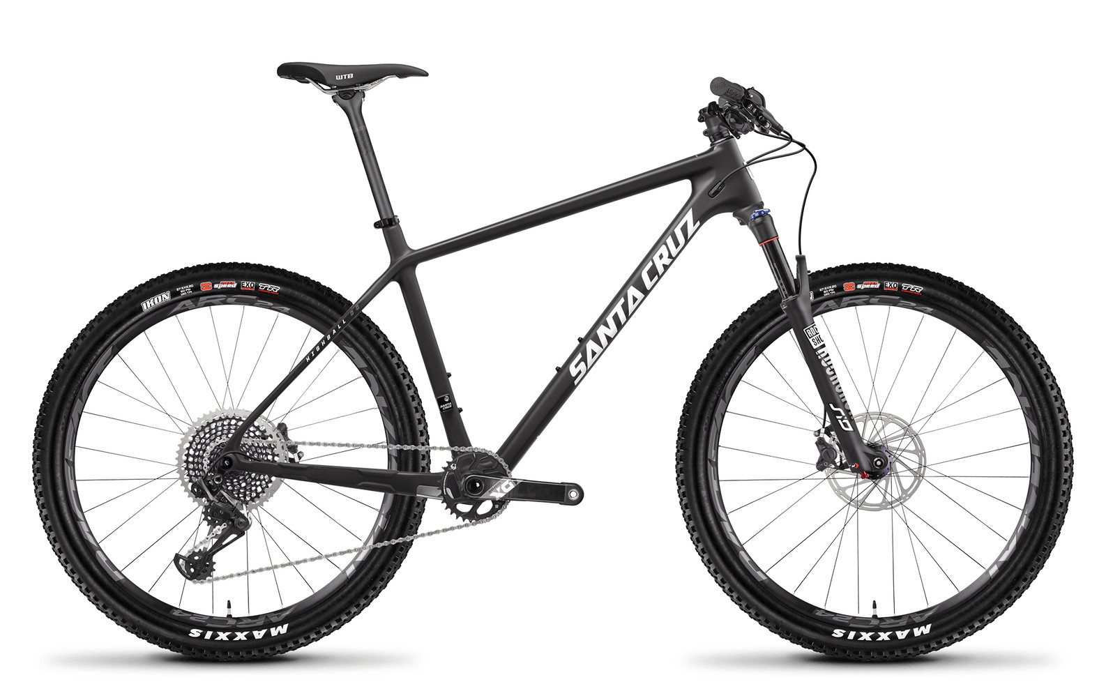 Santa Cruz Highball 27.5 CC X01 Matte Carbon and White