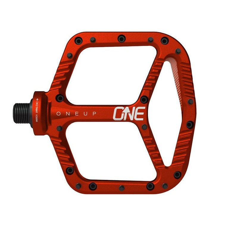 OneUp Components Aluminum Flat Pedal (red)