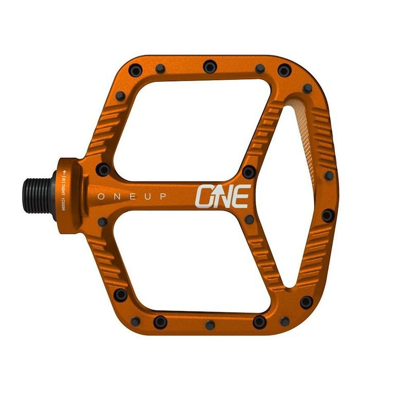 OneUp Components Aluminum Flat Pedal (orange)