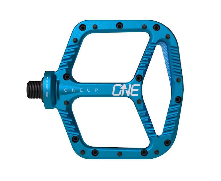 OneUp Components Aluminum Flat Pedal (blue)
