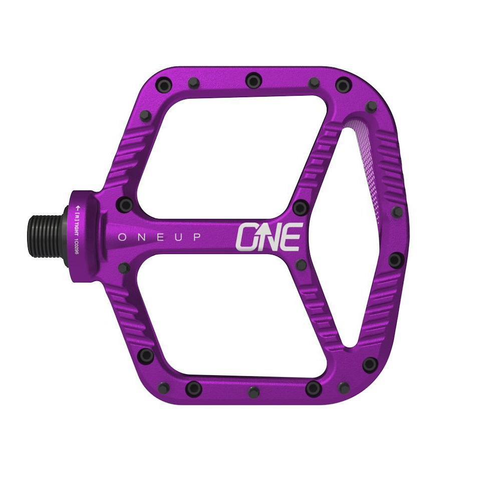 OneUp Components Aluminum Flat Pedal (purple)