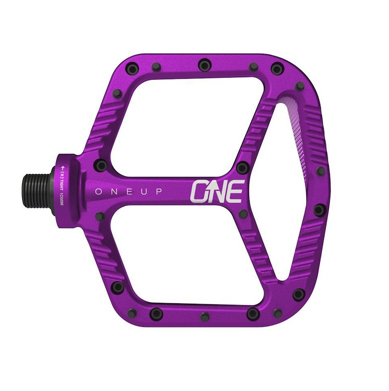 OneUp Components Aluminum Flat Pedal (purple)