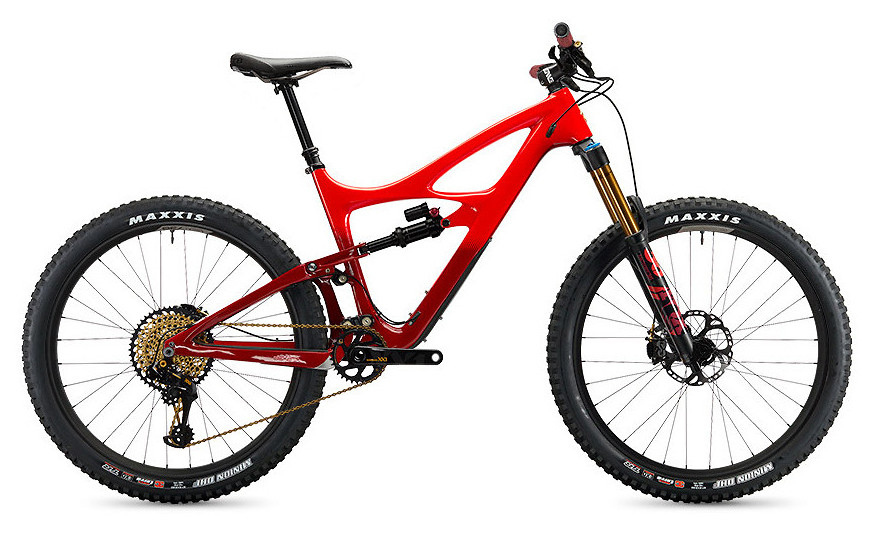 Mojo HD4 SRAM XX1 Eagle Build - Red