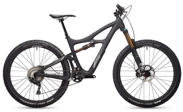 Mojo 3 Deore XT 1X Build - black