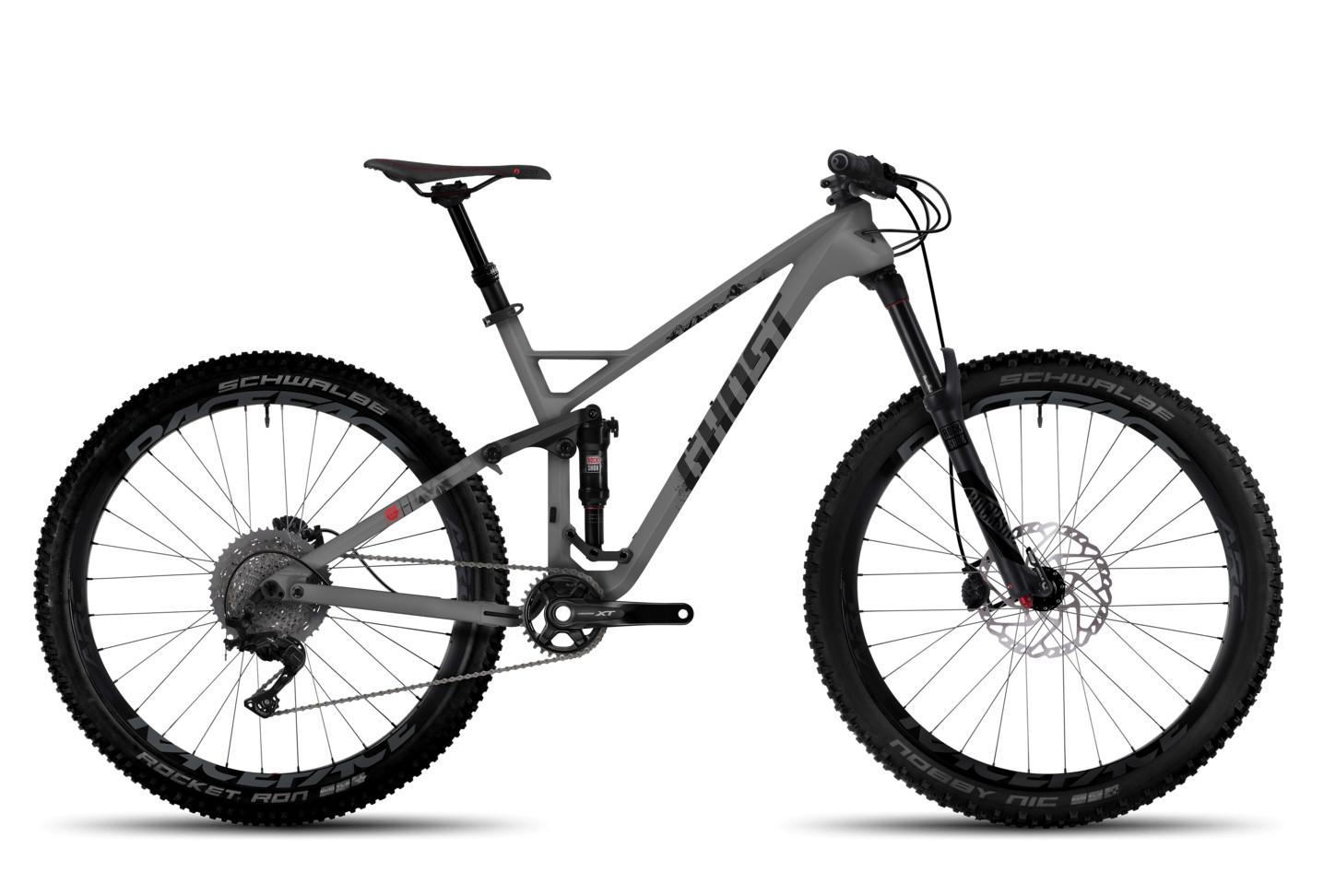 2017 ghost h amr 8 lc bike reviews comparisons specs. Black Bedroom Furniture Sets. Home Design Ideas