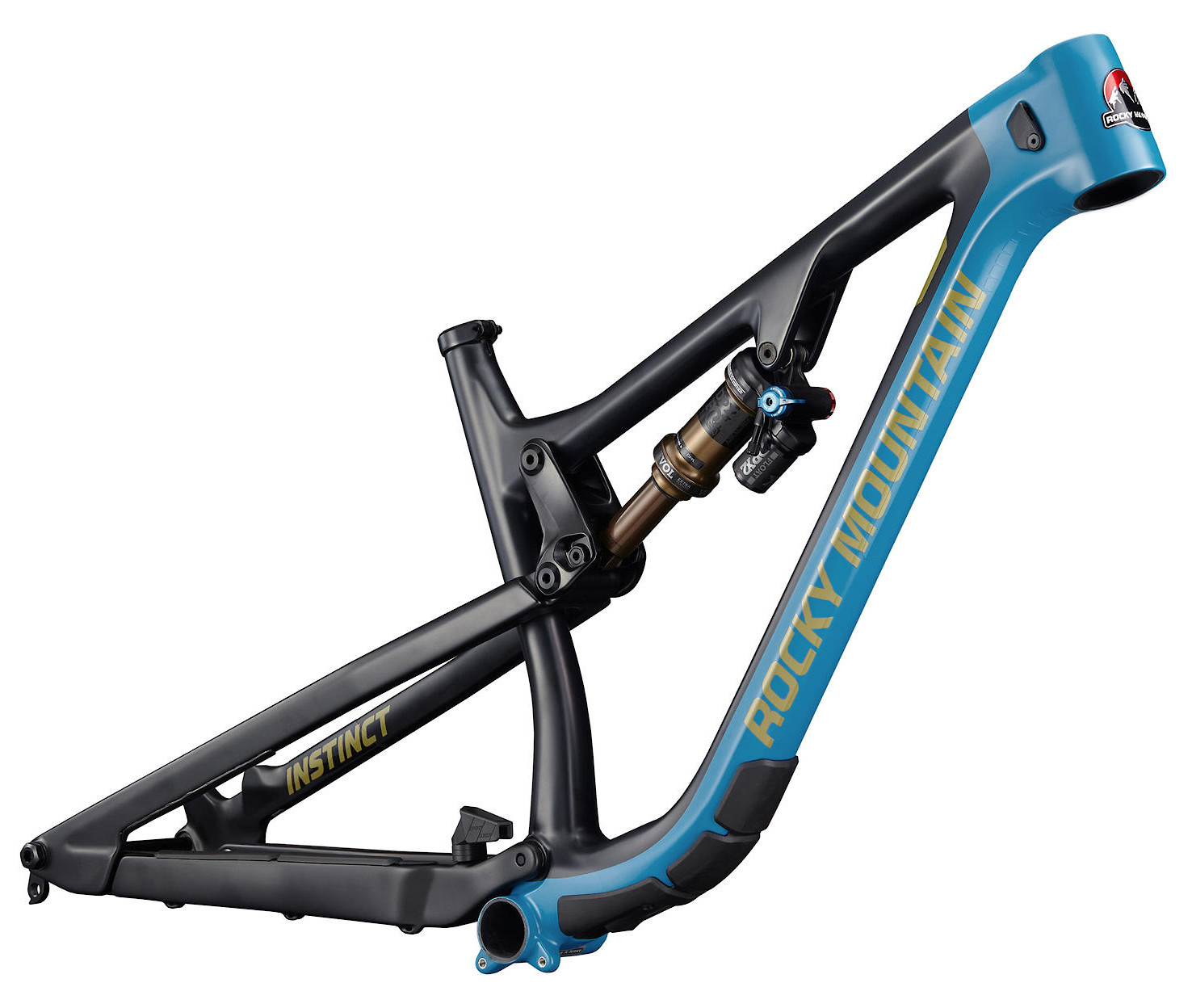 2020 Rocky Mountain Instinct Carbon Frame BC Edition Black Blue and Yellow