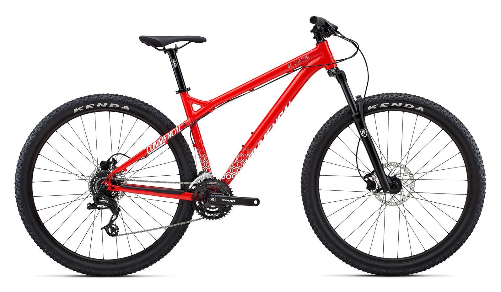 2018 Commencal El Camino Red Bike