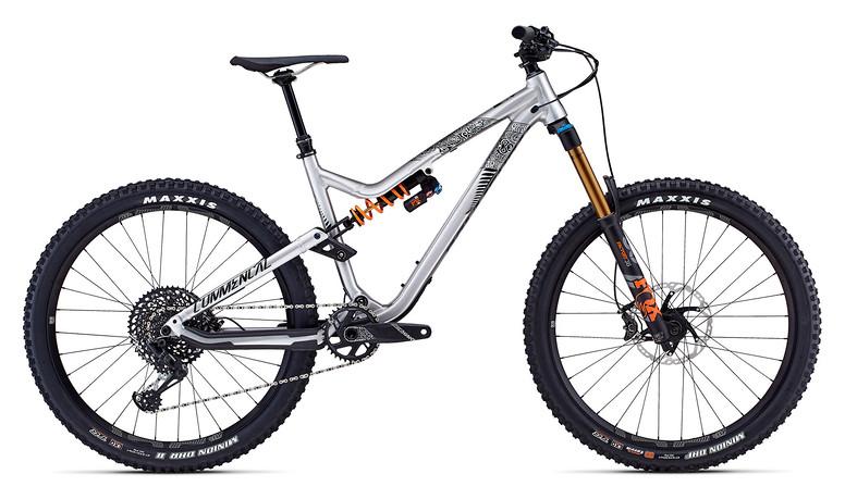 2018 Commencal Meta AM V4.2 New Zealand 650B Brushed Bike