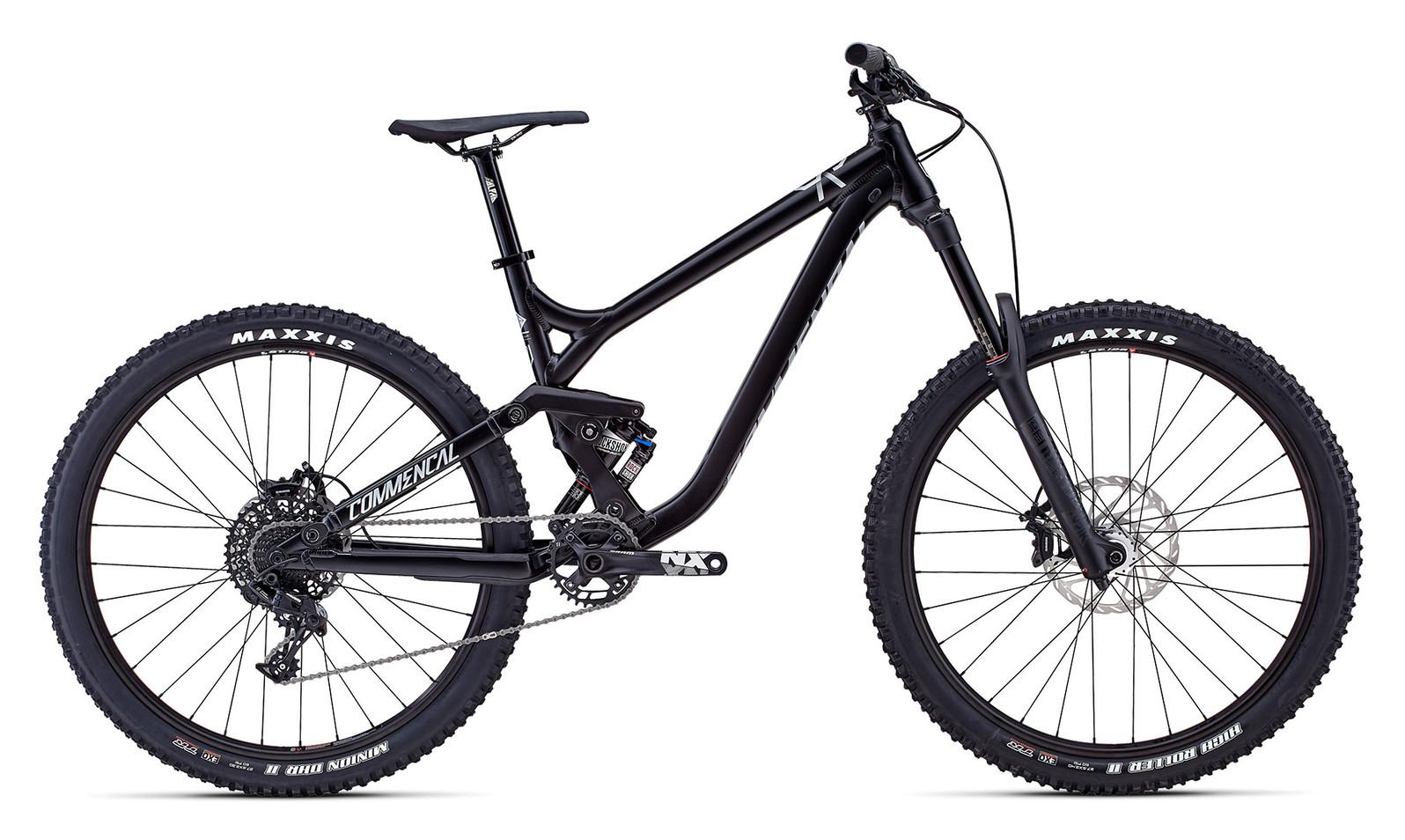 2018 Commencal Meta SX V3 650b Bike - black