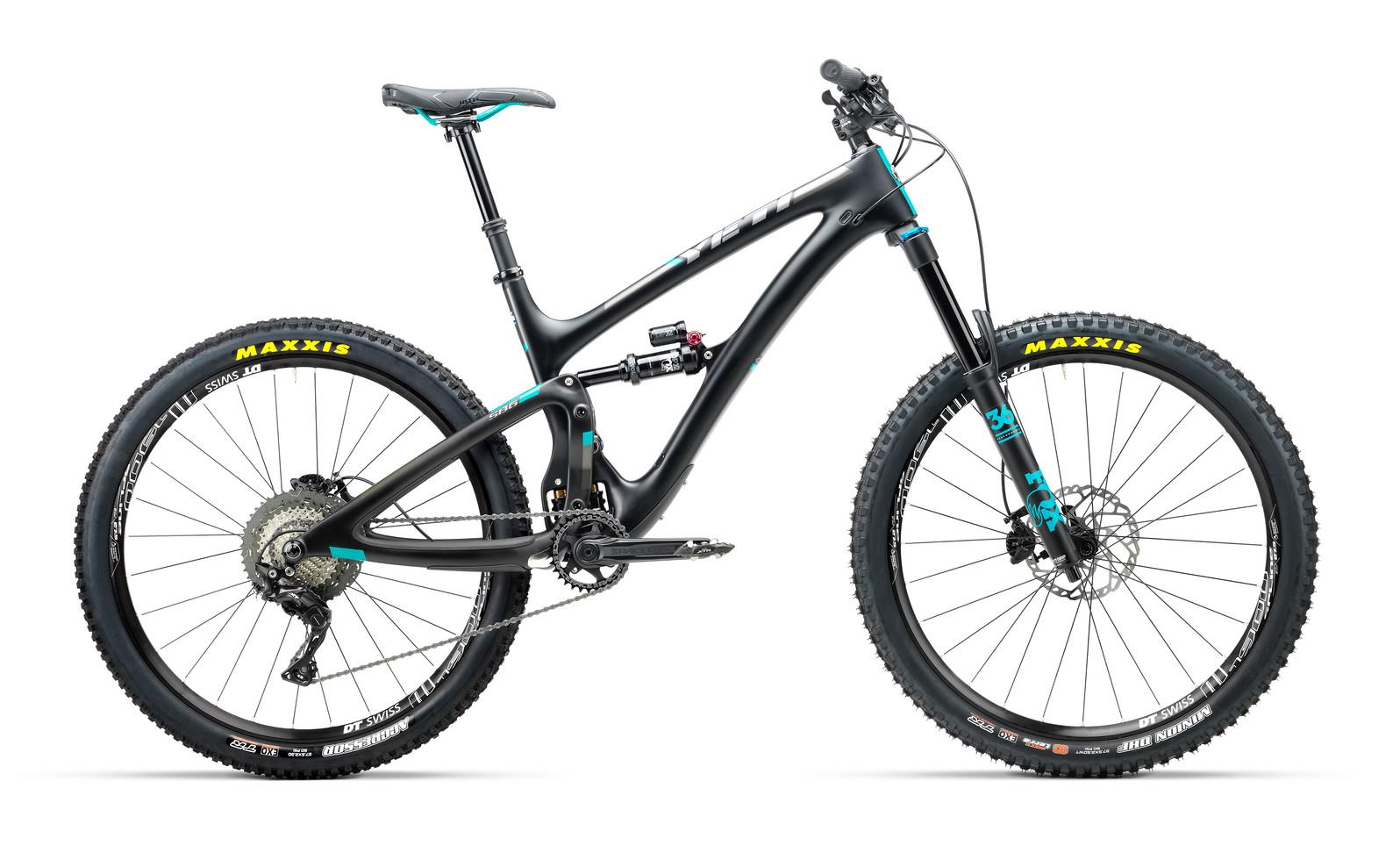 2018 Yeti SB6 Carbon XT/SLX Bike 2018_Yeti_SB6_Carbon_XT-SLX_black