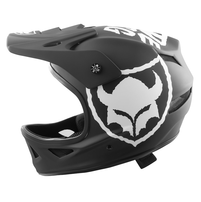 TSG Squad Junior Helmet - Ripped Black